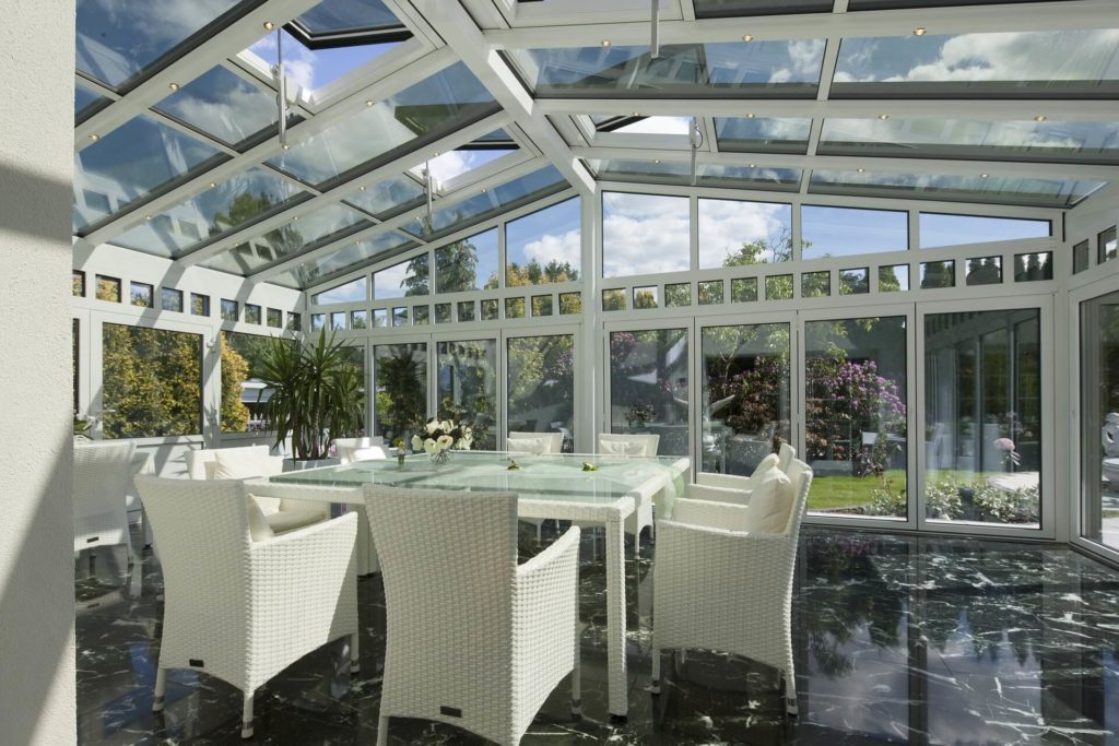 laminate- best flooring for your conservatory